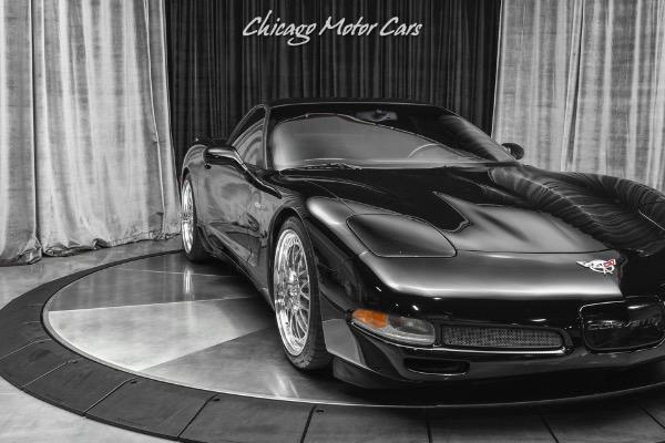 Used-2003-Chevrolet-Corvette-Z06-1-OWNER-HRE-WHEELS-CORSA-EXHAUST